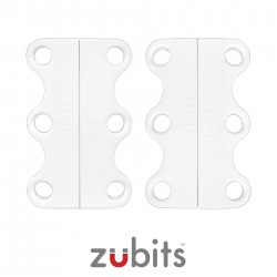 Zubits® Bianco - Lacci magnetici - misura 1