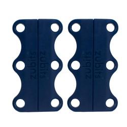 Zubits® Blu Navy - Lacci magnetici - misura 1