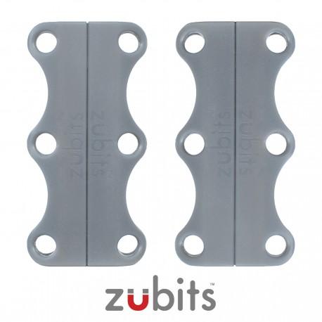 Zubits® Grigio - Lacci magnetici - misura 3