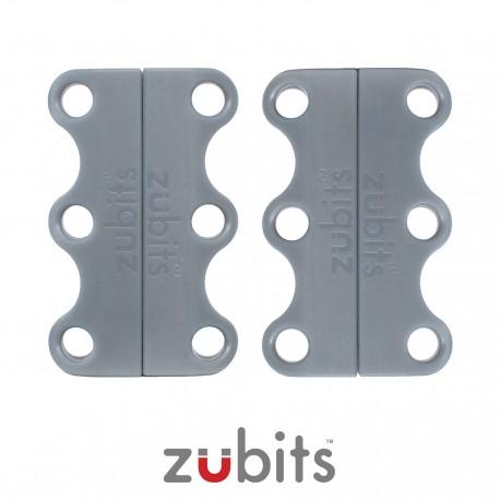 Zubits® Grigio - Lacci magnetici - misura 1
