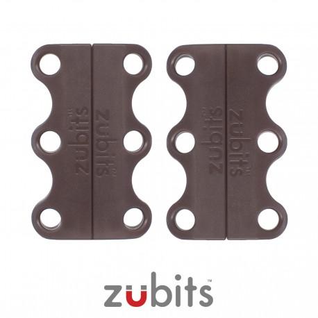 Zubits® Marrone - Lacci magnetici - misura 1