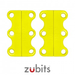 Zubits® Giallo - Lacci magnetici - misura 1