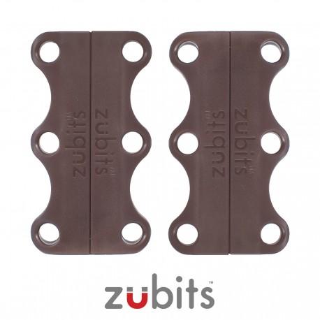 Zubits® Marrone - Lacci magnetici - misura 2