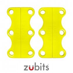 Zubits® Giallo - Lacci magnetici - misura 2
